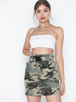 Only Onllene Camo Short Skirt Wvn