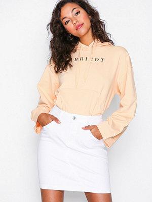 Selected Femme Slfmaya Mw Denim Skirt White W