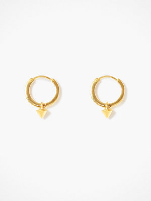 Syster P örhängen Mini Cone Hoop Earrings