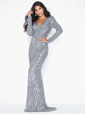 NLY Eve All Over Sequins Gown