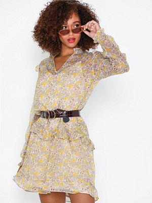 Neo Noir Polly Chiffon Dress