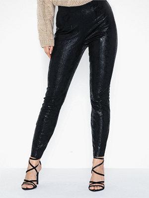Leggings & tights - Only Onlantonia Faux Suede Legging Otw