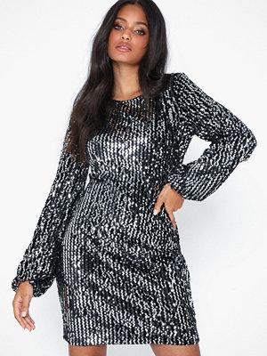 Vero Moda Vmlabaron L/S Sequeins Dress SB1