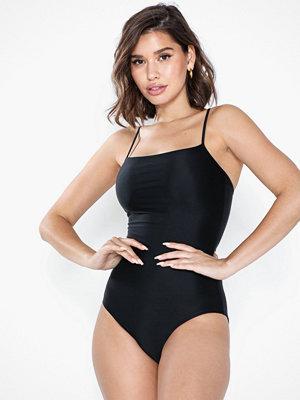 Baddräkter - Filippa K Shiny Strap Swimsuit