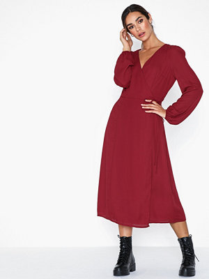 Glamorous V Neck Long Sleeve Dress