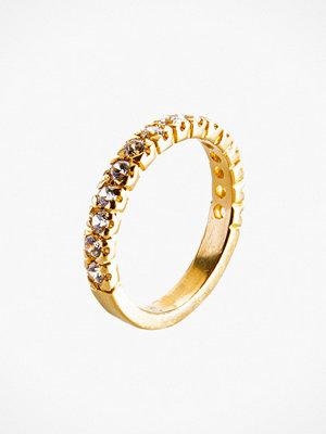 Santai White Zircone Ring