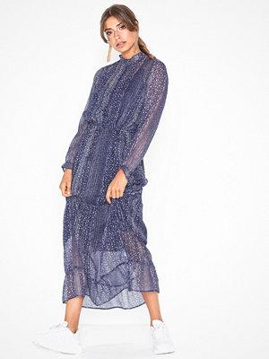 Neo Noir Silo Printed Dress