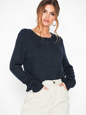 Vila Viril L/S O-Neck Knit Top-Noos