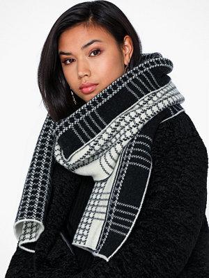 Halsdukar & scarves - Dagmar Check jacquard scarf