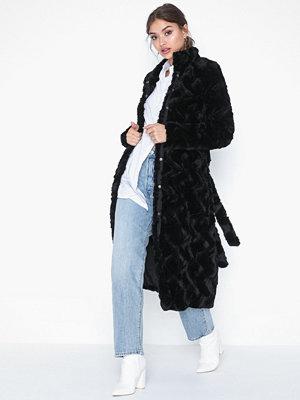 Vero Moda Vmcurl Long Faux Fur Jacket