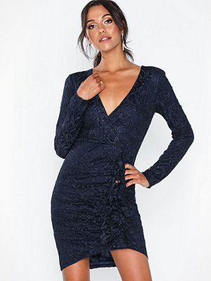 NLY Eve Wrap Lace Dress