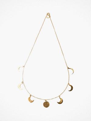 Santai halsband Moon Phase Necklace
