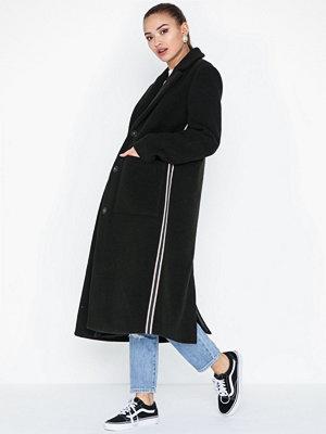 Pieces Pchelyn Stripe Coat