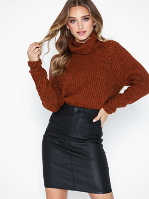 Only Onlemilie Rock Coated Skirt