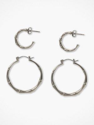 Pieces örhängen Pcjambu Hoop Earrings 2-Pack D2D Pb