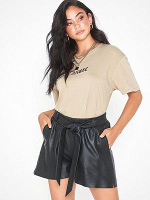 Y.a.s Yasnia Leather Shorts
