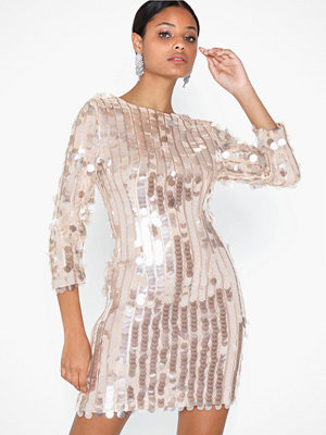 U Collection Sequins Midi Dress