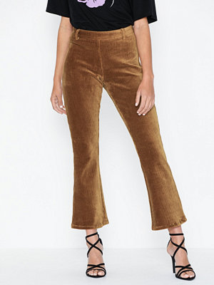 Object Collectors Item bruna byxor Objcorda Nicky 7/8 Kickflared Pant