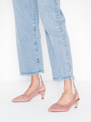 Duffy Sling Back Pumps Ljus Rosa
