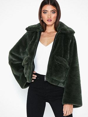 Fuskpälsjackor - Selected Femme Slftrina Faux Fur Jacket