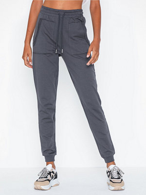 NLY Trend grå byxor Front Pocket Sweat Pants