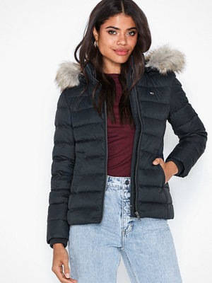 Dunjackor - Tommy Jeans Tjw Essential Hooded Down Jacket