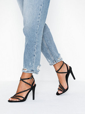 Only Onlaila Cross Stud Heeled Sandal