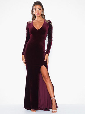 NLY Eve Embellished Slit Gown