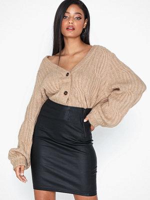 Pieces Pcparo Hw Coated Skirt/Noos