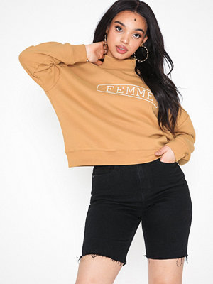 Selected Femme Slfsigrid Ls Highneck Sweat W