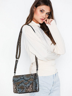 Unlimit mönstrad axelväska Shoulder Bag Rosemary