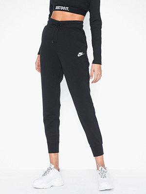 Nike svarta byxor W Nsw Tch Flc Pant