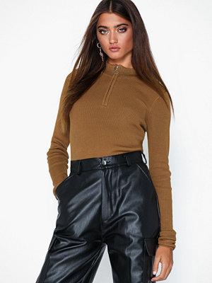 Vero Moda Vmmarco Ls Highneck Zipper Blouse K
