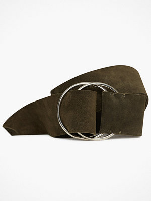 Only Onltacca Wide Suede Waist Belt