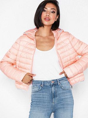 Dunjackor - Calvin Klein Jeans Padded Puffer with Logo Binding Rosa