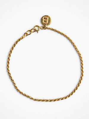 Blue Billie svart smycke Rope Bracelet