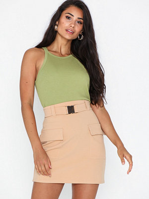 NLY Trend Buckle Cargo Skirt