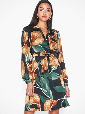 Object Collectors Item Objfania L/S Short Dress a Q