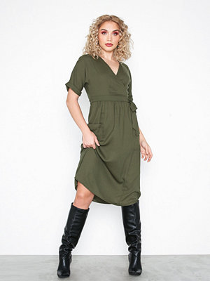 Pieces Pcjohanne Ss Midi Dress D2D