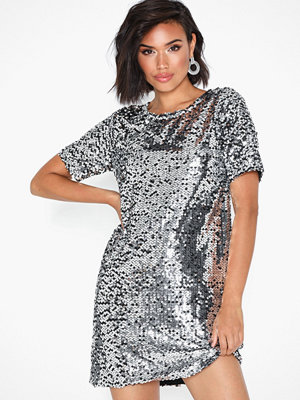 NLY Trend Sequin Shift Dress