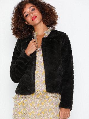Only Onllaura Faux Fur Jacket Cc Otw