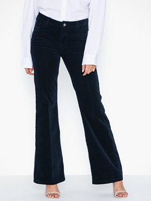 co'couture svarta byxor Denzel Corduroy Boot Cut