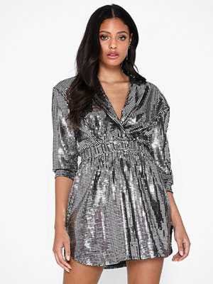 NLY One Square Sequin Dress