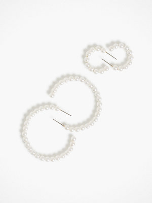 Pieces örhängen Pcomary Hoop Earrings 2-Pack D2D