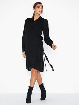 Selected Femme Slfalva Ls Wrap Dress Noos