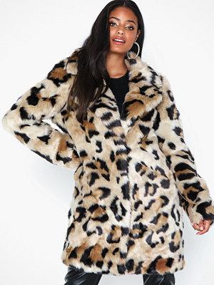 Fuskpälsjackor - Vila Vimondana Faux Fur Coat