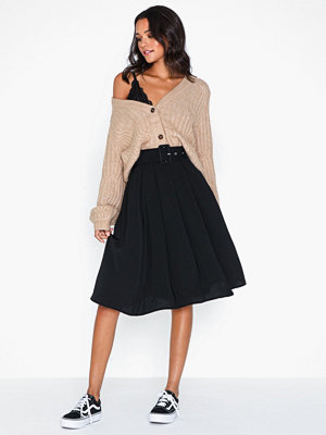 Pieces Pckasandra Hw Midi Skirt D2D