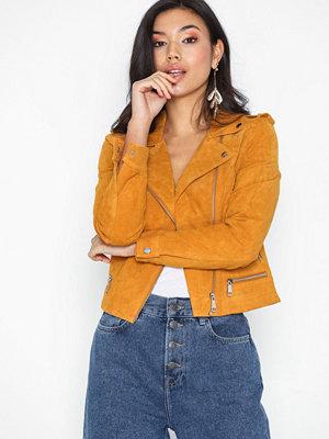 Skinnjackor - Vero Moda Vmroyce Short Suede Jacket Noos