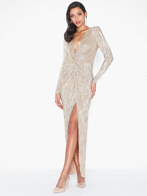 NLY Eve Twisted Shiny Gown