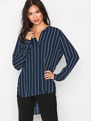 Selected Femme Slfdynella Stripe Ls Shirt Noos